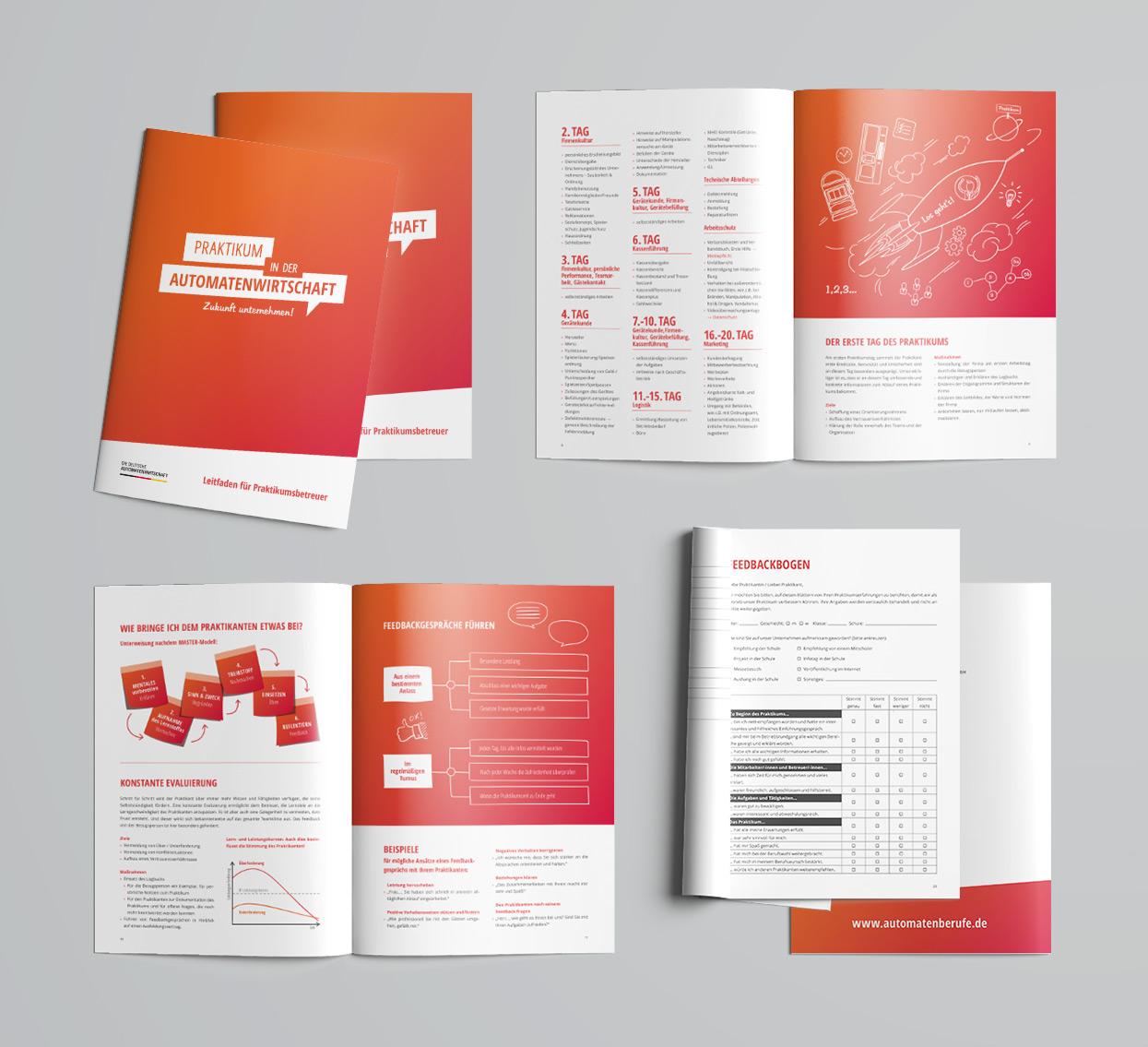 Ausbildung in der Automatenwirtschaft Praktikumsleitfaden Broschüre