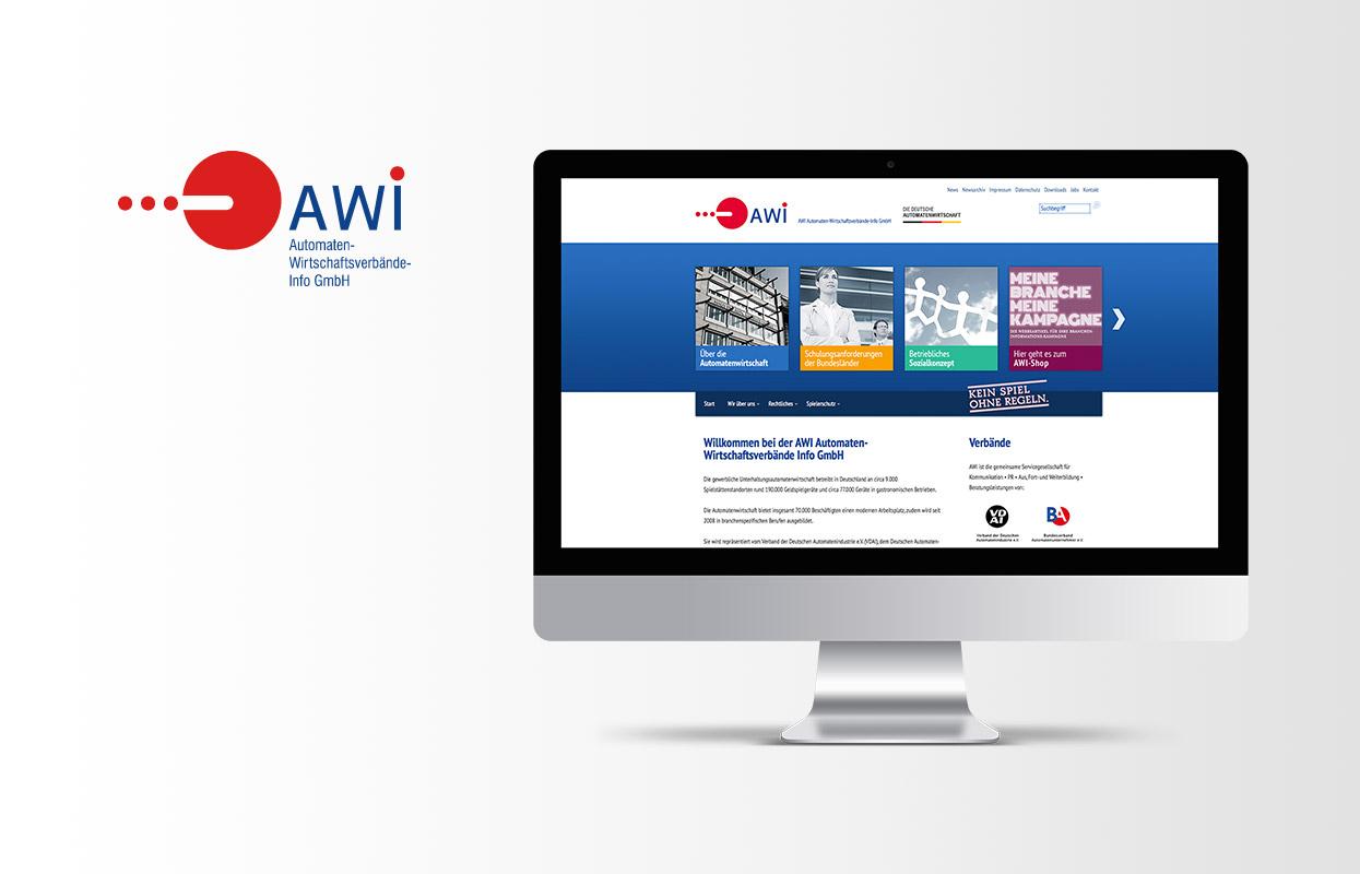 AWI Automaten-Wirtschaftsverbände-Info GmbH Webseite