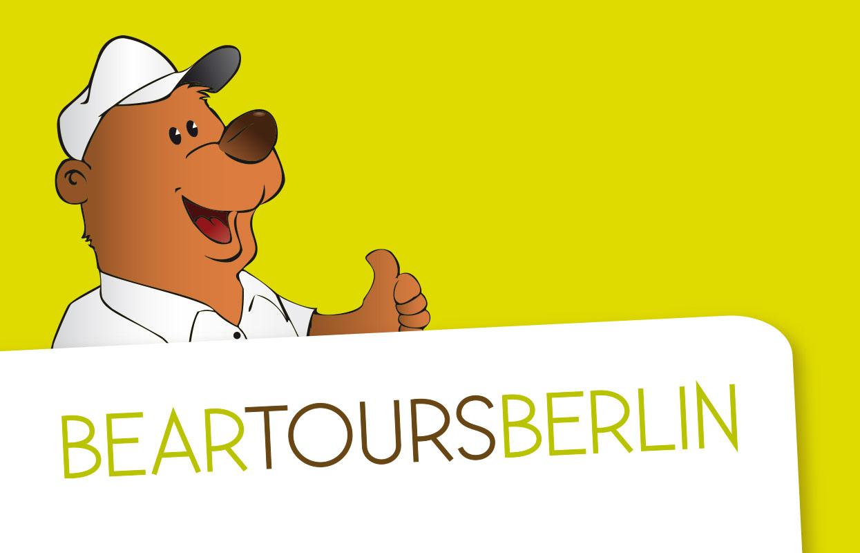 Bear Tours Berlin Corporate Design