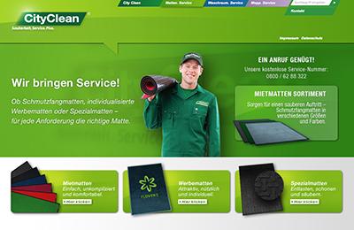 CityClean Webseite