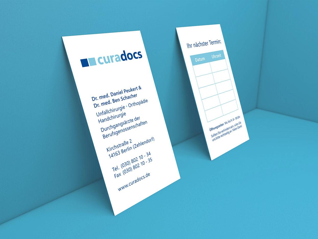 Curadocs Corporate Design Print