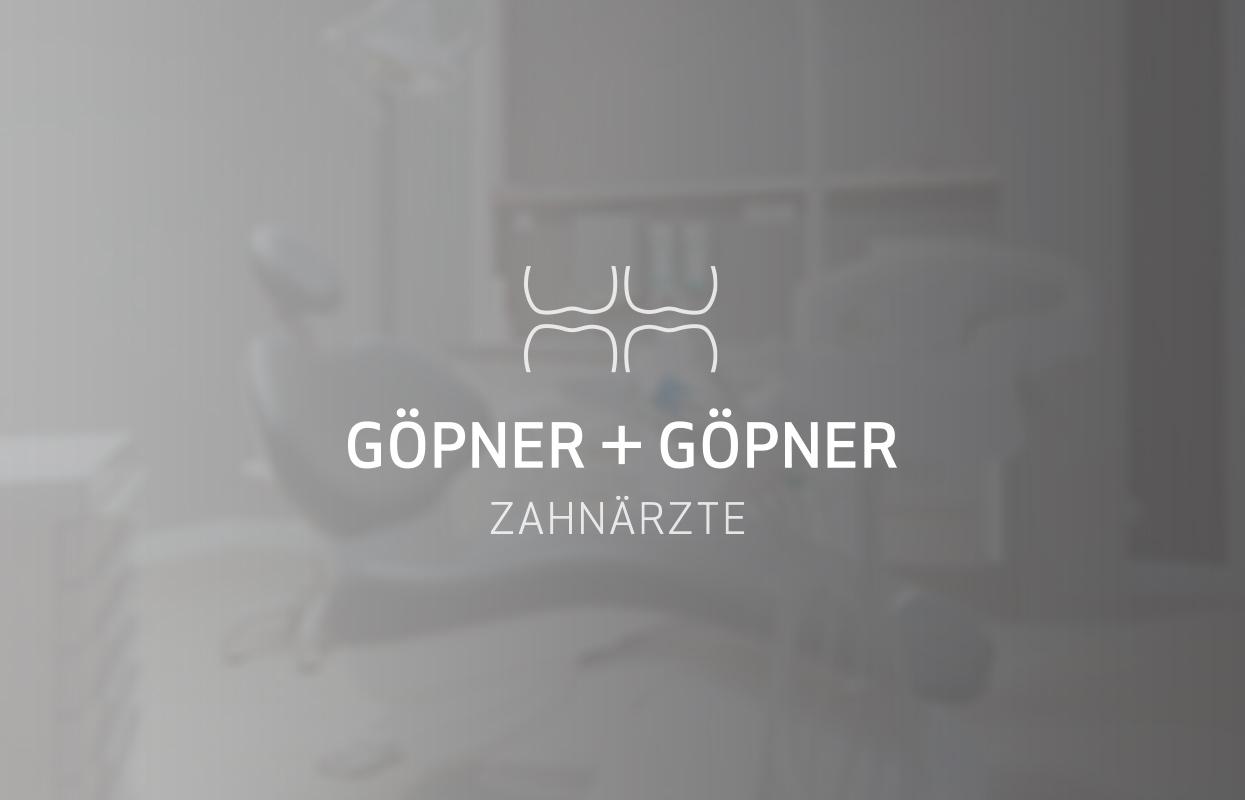 Zahnärzte Gönner Corporate Design