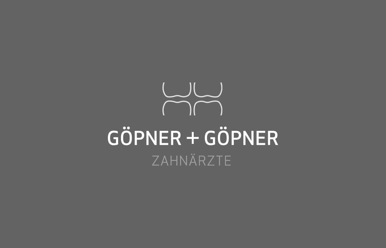 Zahnärzte Göpner und Gönner Corporate Design