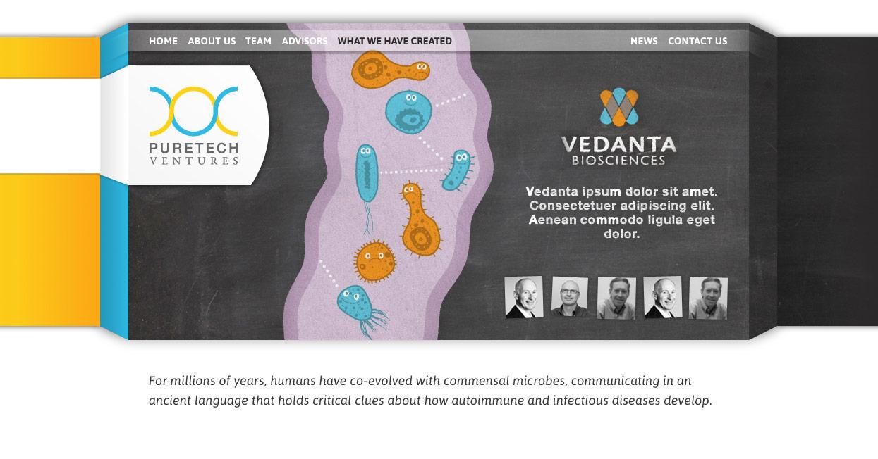 Puretech Ventures Webdesign Pixelbäcker