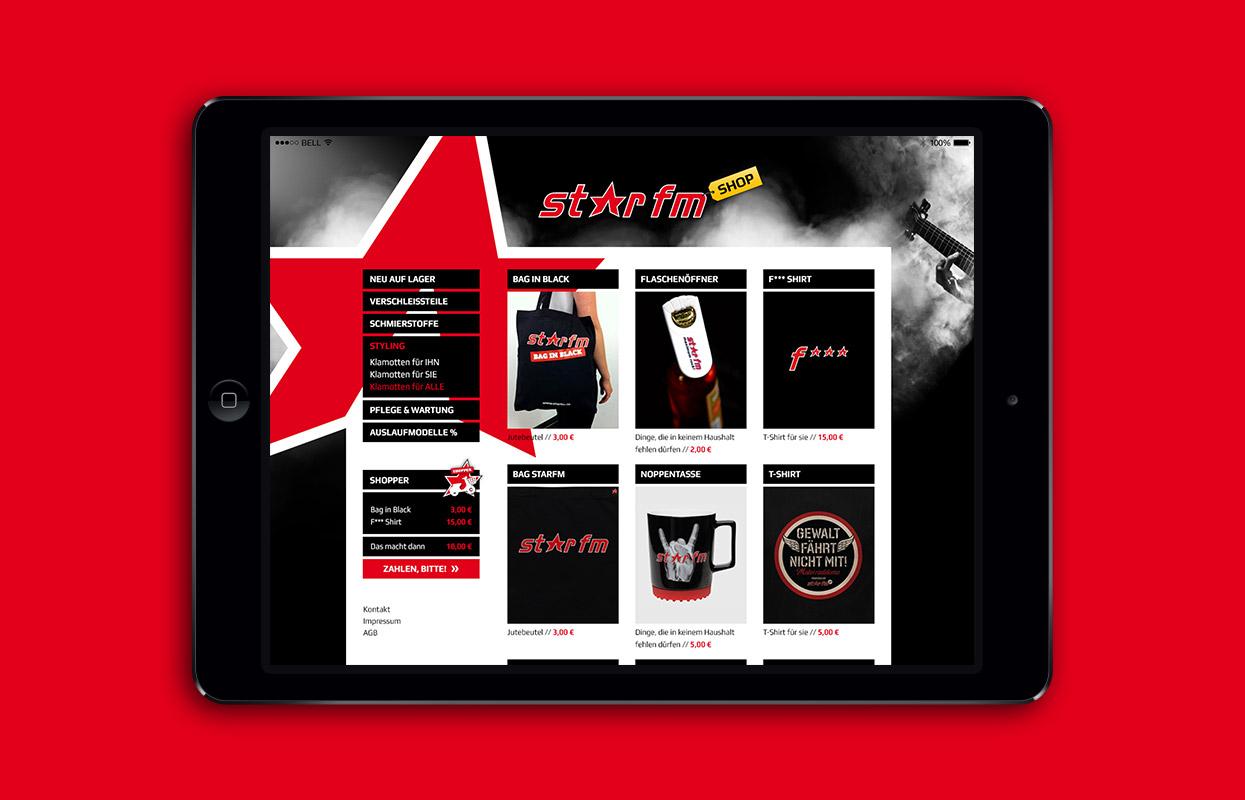 StarFm Webshop