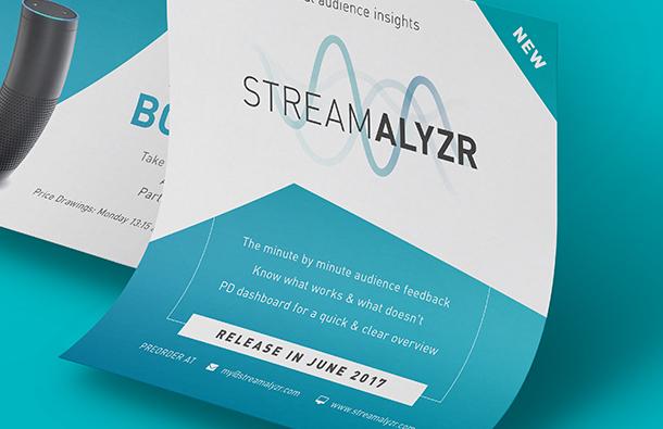 Streamalyrz Corporate Design Flyer